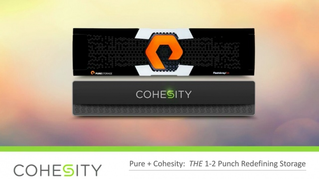 Pure + Cohesity: A Better Way to Grow With Your Data