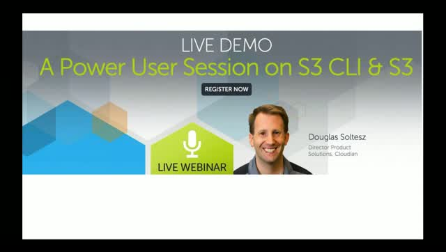 LIVE DEMO: A Power User Session on S3 CLI