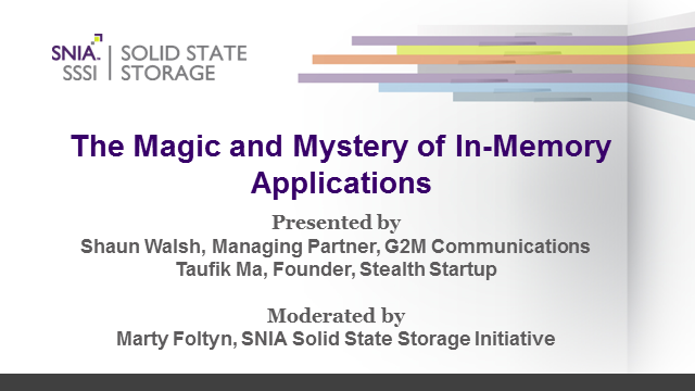 The Magic and Mystery of In-Memory Apps