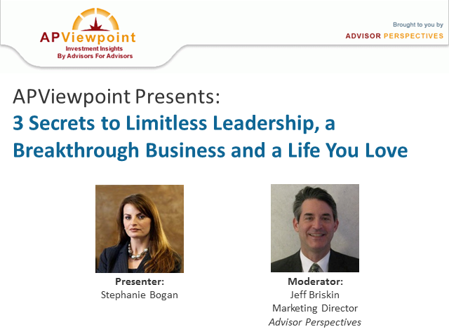 The 3 Secrets to Limitless Leadership, a Breakthrough Business & a Life You Love
