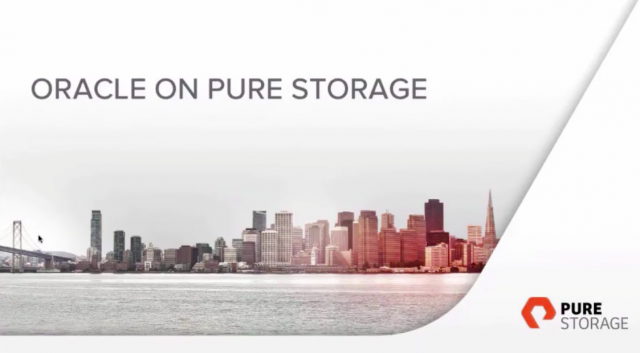 Transform Oracle Application Performance with All-Flash Storage