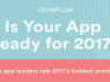 Is Your Mobile App Ready for 2017?