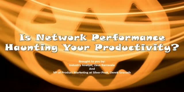 Is Network Performance Haunting Your Productivity? (EMEA Version)
