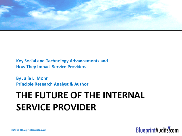 The Future of the IT Service Provider