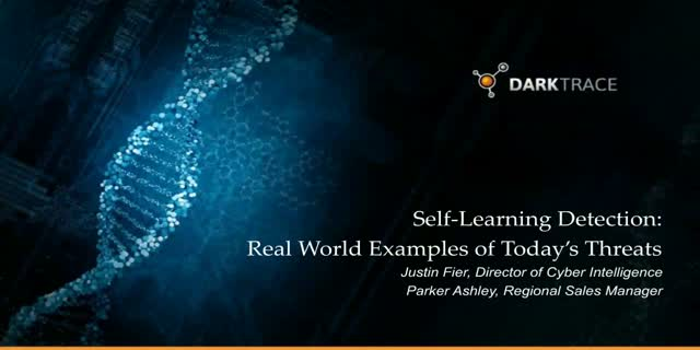 Self Learning Detection: Real-World Threat Incidents Explained