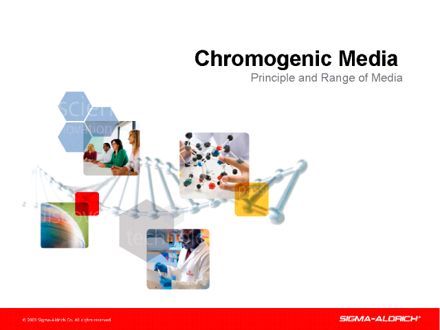 Chromogenic Media - Principle and Range of Media