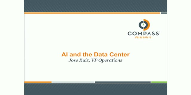 Artificial Intelligence and the Data Center