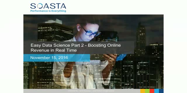 Easy Data Science Part 2 - Boosting Online Revenue in Real-Time