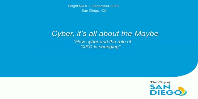 How Cybersecurity, Technology and Risk Is Maturing the Role of the Modern CISO