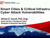 Smart Cities & Critical Infrastructure Cyber Attack Vulnerabilities
