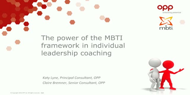 The power of the MBTI framework in individual leadership coaching