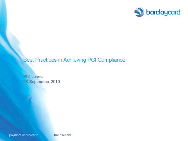 Changes: Best Practices in Achieving PCI Compliance