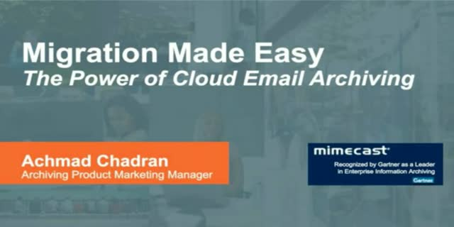 Cloud Migration Made Easy: Harness the Power of Secure Email Storage & Archiving