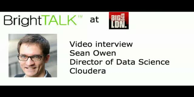 Video interview: Deep learning and its intersection with the Hadoop ecosystem