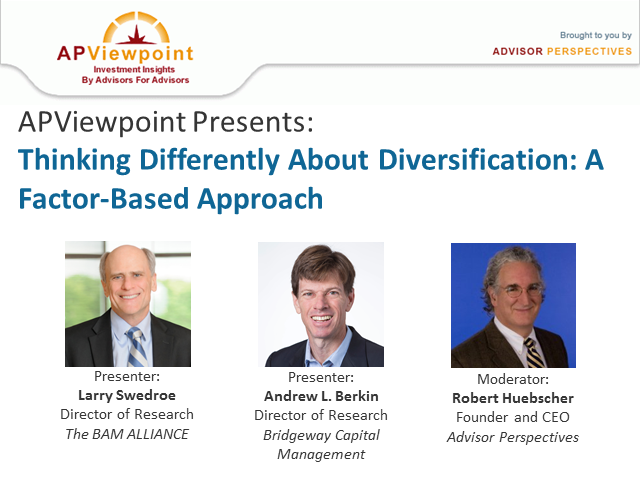 Thinking Differently About Diversification: A Factor-Based Approach