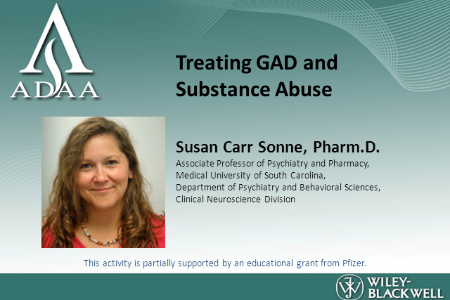 GAD and Substance Abuse