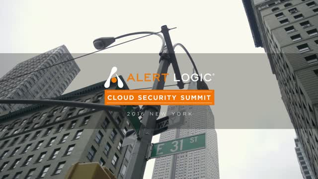 2016 Alert Logic Cloud Security Summit - NYC Highlights