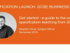 New reformed Eduqas GCSE Business from 2017: A guide to the specification