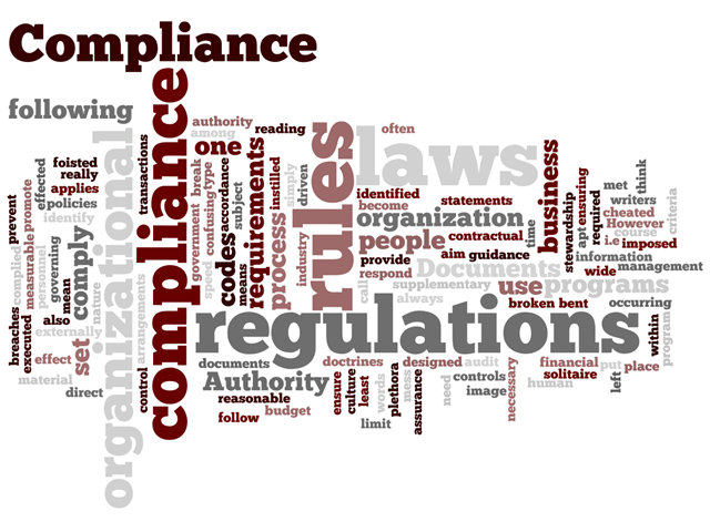 In this regulatory environment, Unified Compliance is a MUST