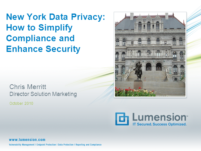NY Data Privacy: How to Simplify Compliance & Enhance Security