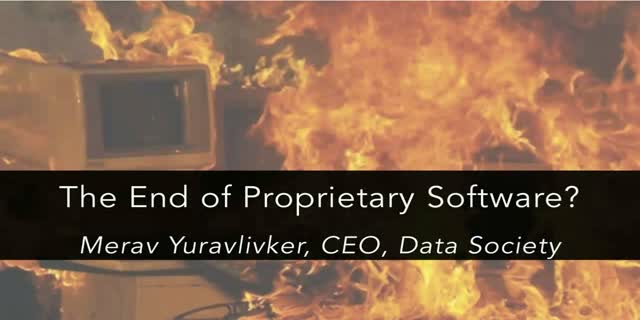 The End of Proprietary Software