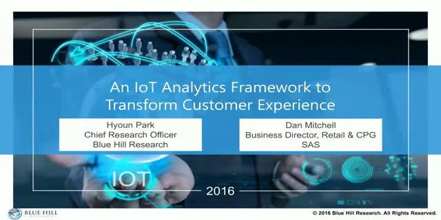 An IoT Analytics Framework to transform Customer Experience