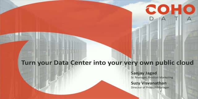 Turn Your Data Center into Your Very Own Public Cloud