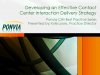 Developing an Effective Contact Center Interaction Delivery Model