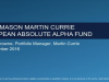 Legg Mason Martin Currie European Absolute Alpha Fund