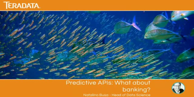 Predictive APIs: What about Banking?