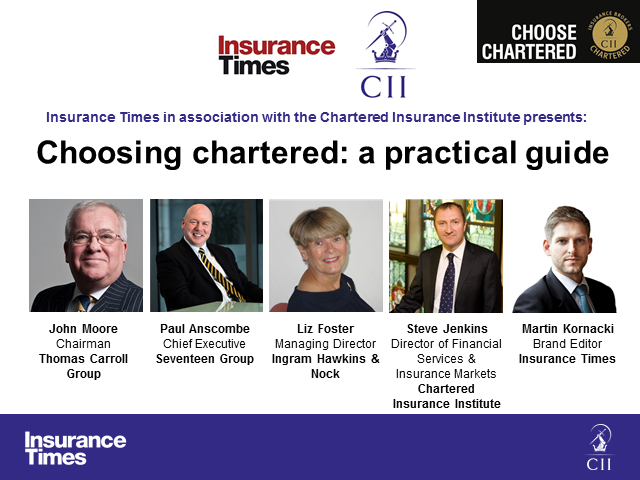 Choosing Chartered: a practical guide