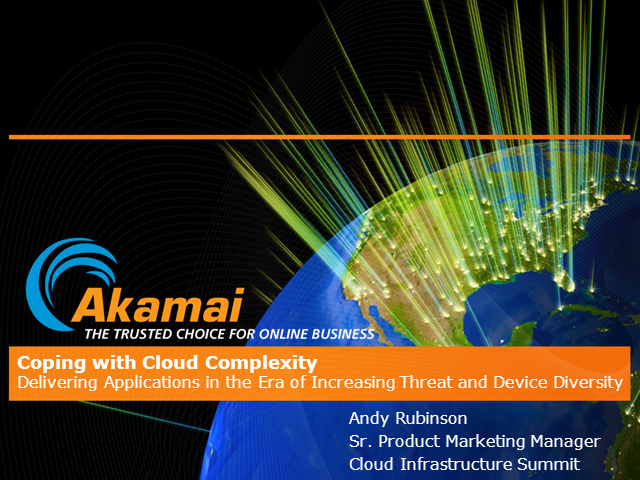 Delivering Applications with Increasing Threat & Device Diversity