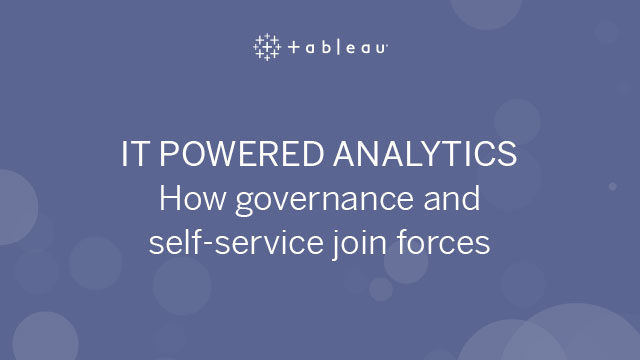 IT Powered Enterprise Analytics