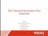 The Essential Pieces of Your 2017 Demand Generation Plan