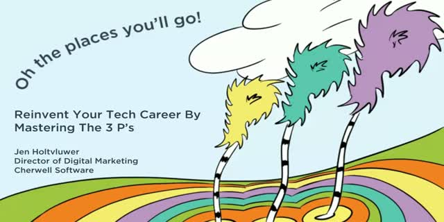 oh the places you ll go reinvent your tech career by mastering the