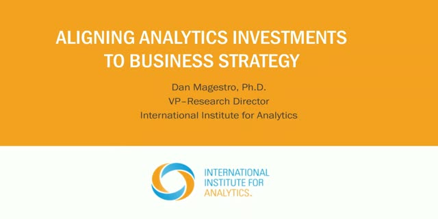 Aligning Analytics to Business Strategy: Three Paths to Success