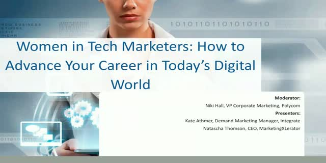 Women in Tech Marketers: How to Advance Your Career in Today's Digital World