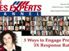 3 Ways to Engage Prospects: 3x Response Rates