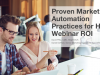 Proven Marketing Automation Practices for High Webinar ROI [EMEA Edition]