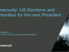 Interactive Q&A: Cybersecurity and the US Elections