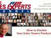 How to Double Your Sales Team's Productivity