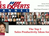 The Top 3 Sales Productivity Ideas for 2017