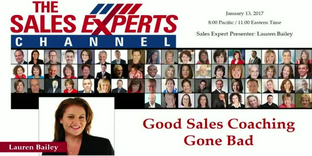 Good Sales Coaching Gone Bad