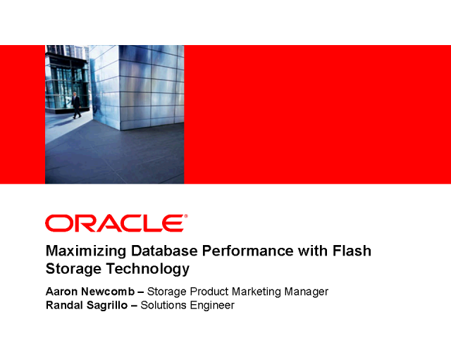 Maximizing Database Performance with Flash Storage Technology