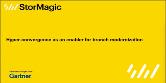 Hyperconvergence as an Enabler for Branch Modernization
