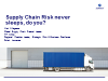 Supply Chain Risk never sleeps, do you?
