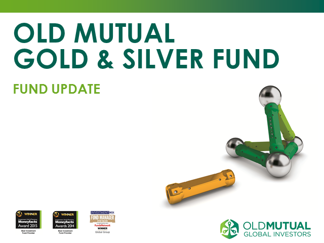 Old Mutual Gold & Silver Fund Update - November 2016