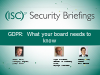 GDPR: What Your Board Needs to Know