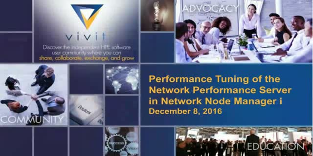 Performance Tuning of the Network Performance Server in Network Node Manager i