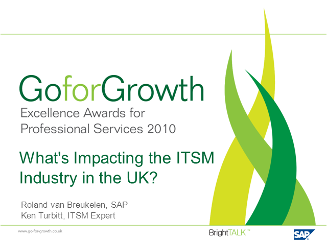 What's Impacting the ITSM Industry in the UK?